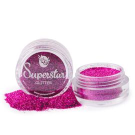 #407 Laser Rose glitter