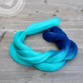 Vlecht Mermaid Turquoise