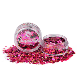 Chunky Glitters Pink Lady