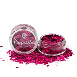 Chunky Glitter Laser Pink Mix