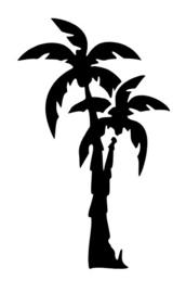 106 Palm Tree sjabloon