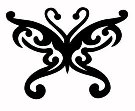 123 Butterfly Deco