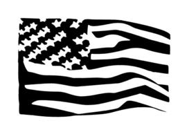 #53800 USA Flag sjabloon