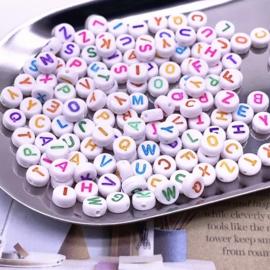 Alphabet Color-  Letter Mix  ( 100 stuks )