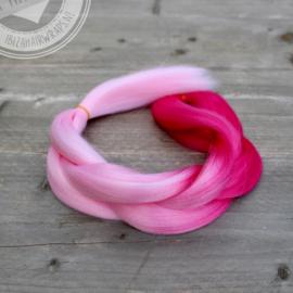 Vlecht Mermaid Pink 1
