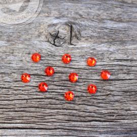 Swarovski steentjes rood 10 stuks