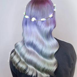 LED hoofdbanden 'White Flower''