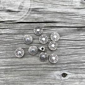 #7 Tibetan Beads Rondelle  /set 10 stuks