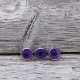 Fijne glitter Purple Violet 2 ml set 3 stuks