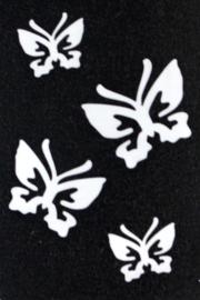 #1218 - 4 Vlinders
