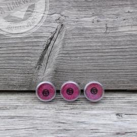 Fijne glitter Pink Fiesta 2 ml set 3 stuks