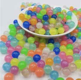 Acryl Glow Beads (200 stuks)
