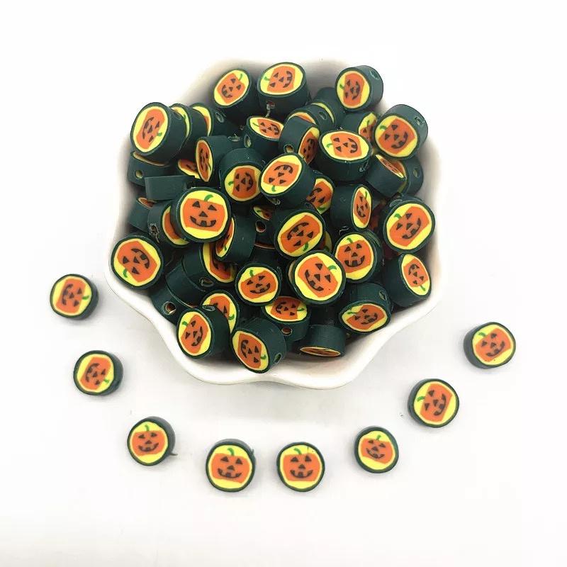 Polymer Clay Beads Halloween (30 stuks)