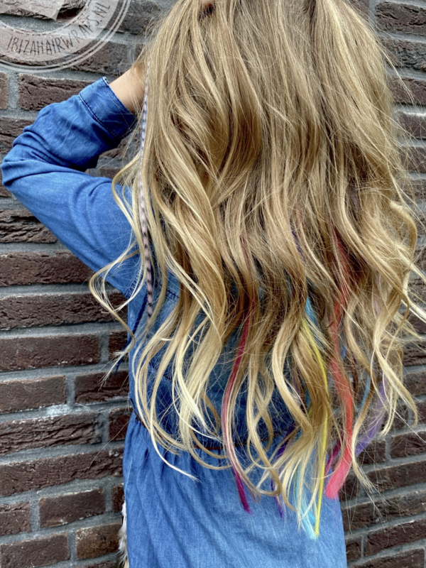 Synthetische Feather Extensions Leisure