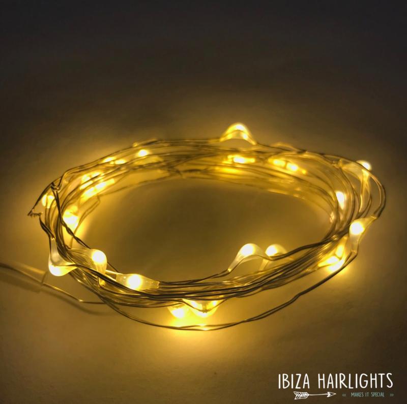 IBIZA Hairlights 'Warm White'