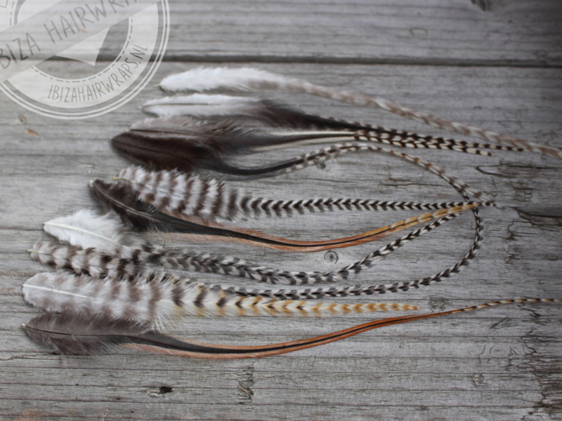 Natural Feathers 15-25 cm