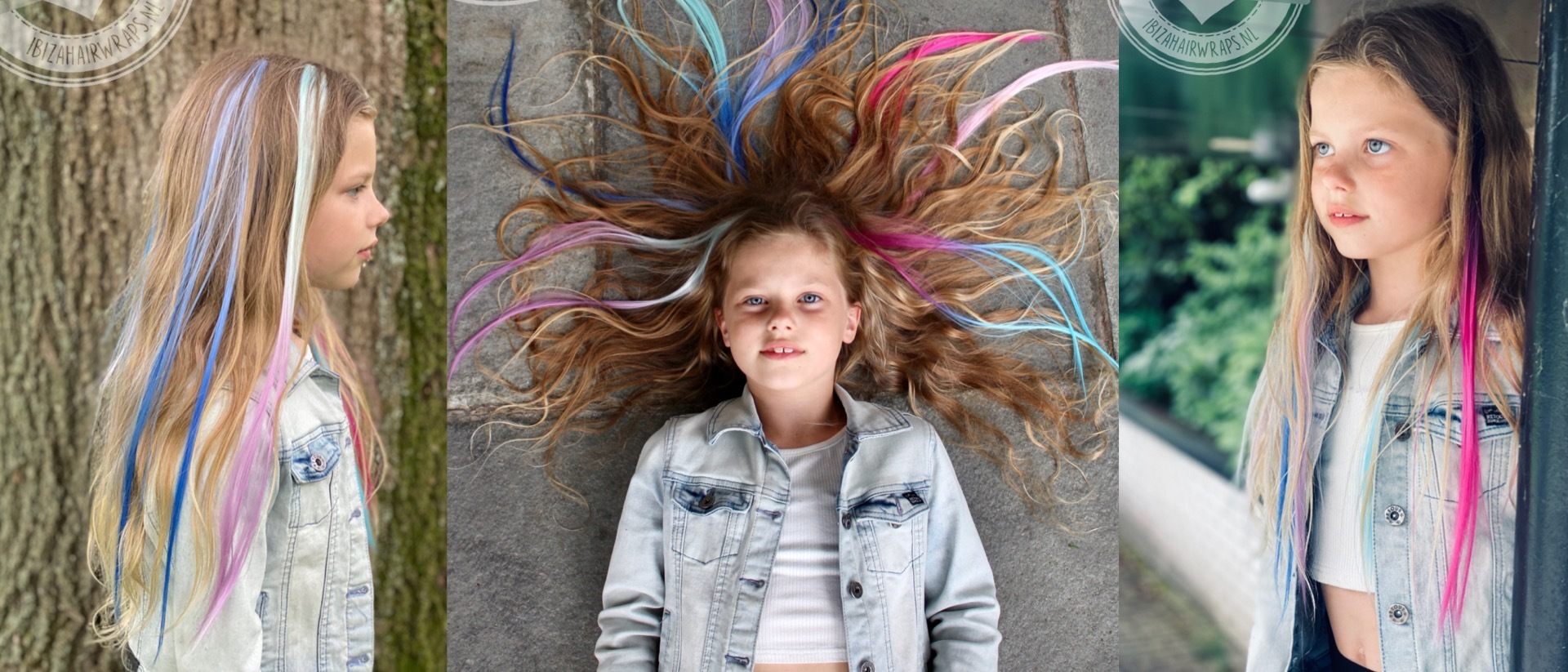 hairextensions clip-inn's lise