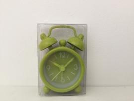 Mini klokje groen