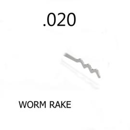 Worm Rake 0.020