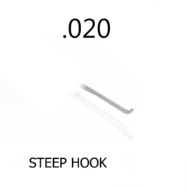 Steep Hook 0.020 Thick
