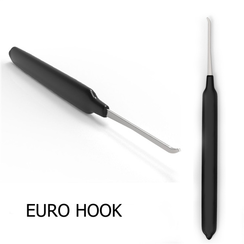 Euro Hook 0.025 Thick with rubber handle