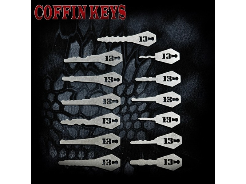 Coffin Keys | Sparrows Lock Picks | HettyKat