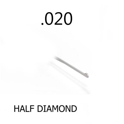 Half Diamond 0.020 Thick