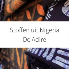 Stoffen uit Nigeria -  De Adire