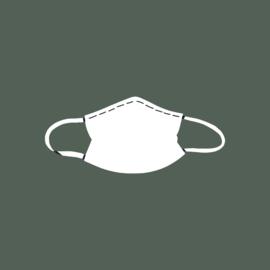 Niet-medische mondkapjes van Afrikaanse print