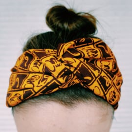 Vintage Afrikaanse print haarbanden