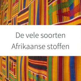 De vele soorten Afrikaanse stoffen