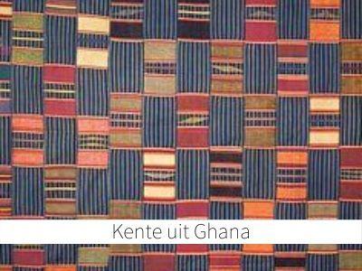 Kente uit Ghana