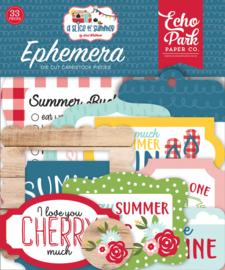 A Slice of Summer Ephemera