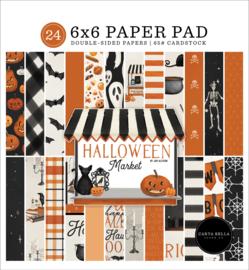 "Halloween Market 6x6"" Paper Pad"