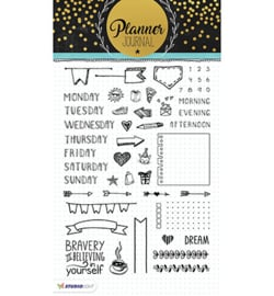 Clearstempel A5 Planner Journal nr. 01