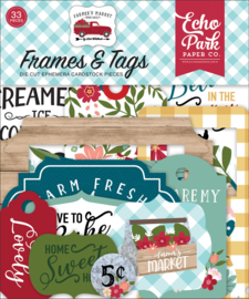 Farmer's Market Frames & Tags