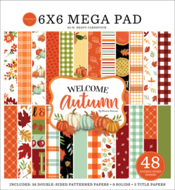 """Welcome Autumn Cardmakers 6x6"""" Mega pad"""