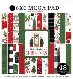 "Home for Christmas Cardmakers 6x6"" Mega pad"