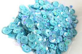 Aqua Paradise Sparkly Sequins Mix