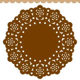 Doodlebug Mini Paper Doilies 7.5cm - Bon Bon (5 stuks)