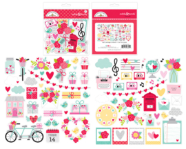 Doodlebug Love Notes Odds & Ends (6601)