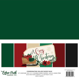 Happy Holidays | Add-on solids paper kit II