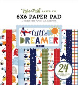 "Little Dreamer Boy 6x6"" Paper Pad"