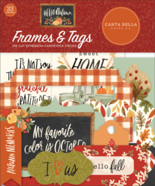 Hello Autumn Frames & Tags