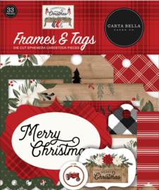 Farmhouse Christmas Frames & Tags