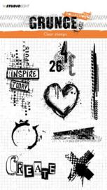 StudioLight Clearstempel Grunge Collection 2.0 nr.363 - STAMPSL363