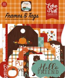 Happy Fall Frames & Tags