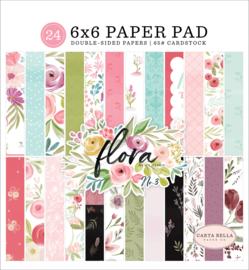 Flora No. 3 6x6 Paper Pad
