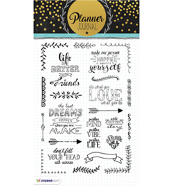 Clearstempel A5 Planner Journal nr 03