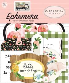 Spring Market Ephemera